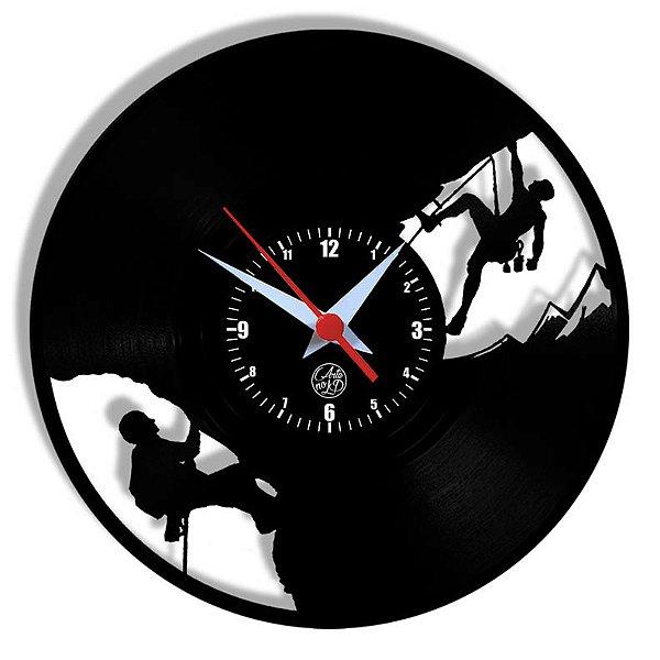 Relógio de Vinil - Bombeiro Alpinista