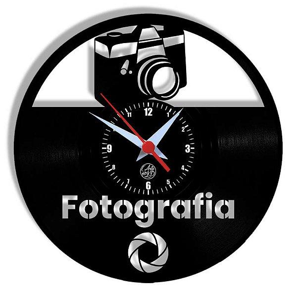 Relógio de Vinil - Fotografia