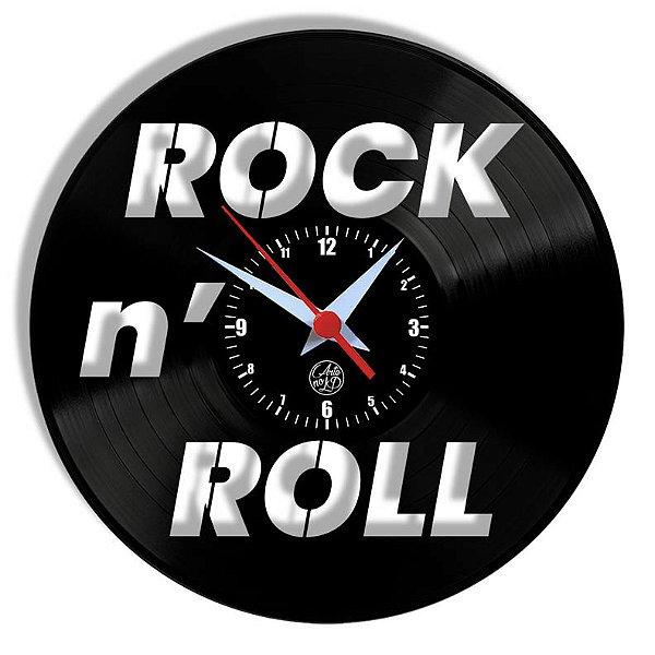 Relógio de Vinil - Rock N Roll