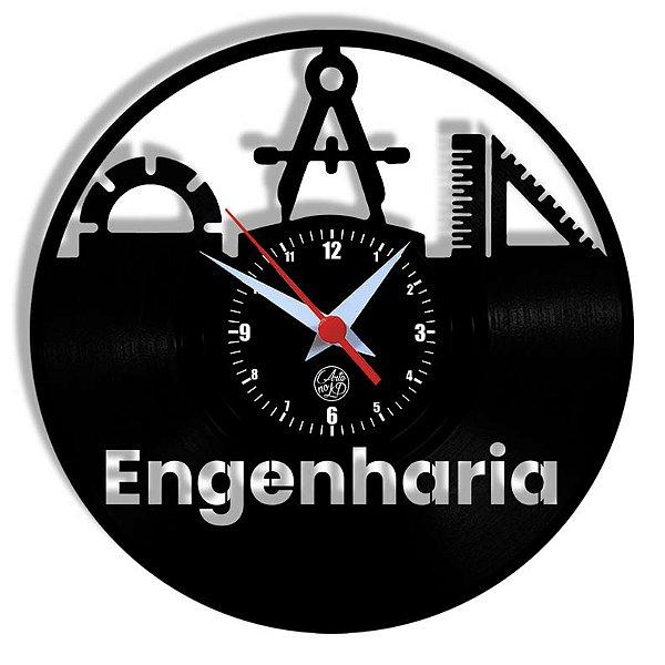 Relógio de Vinil - Engenharia