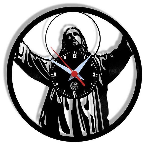 Relógio de Vinil - Jesus Cristo