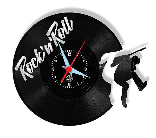 Relógio de Vinil - Guitarrista Saindo