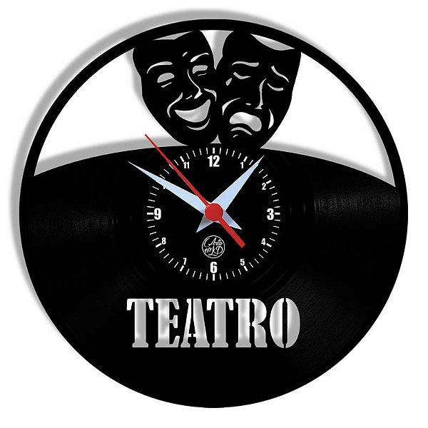 Relógio de Vinil - Arte Teatro