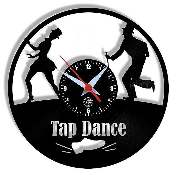 Relógio de Vinil - Dança Tap Dance Sapateado