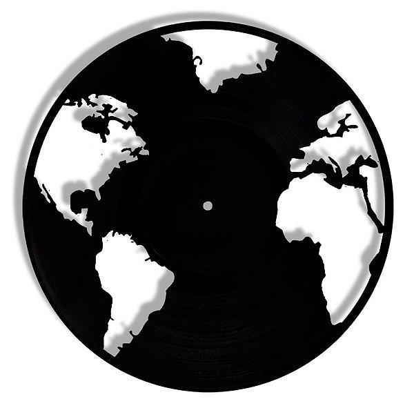 Vinil - Mapa Mundi