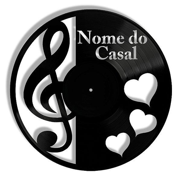 Vinil - Casal Clave