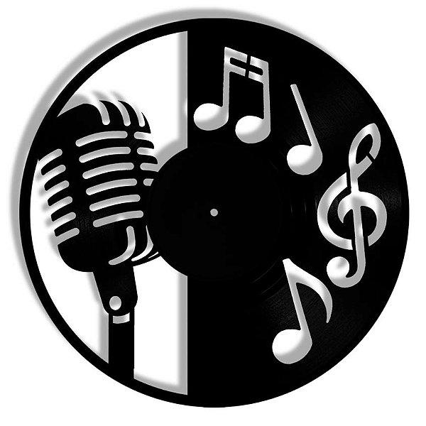 Vinil - Microfone