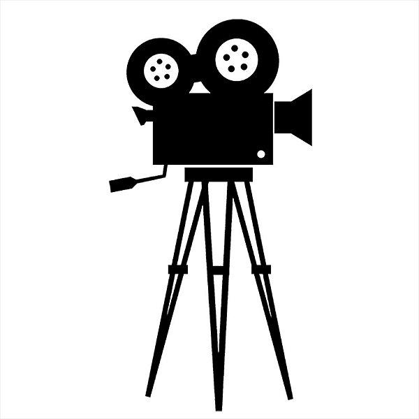 Adesivo - Câmera de Cinema Cinema