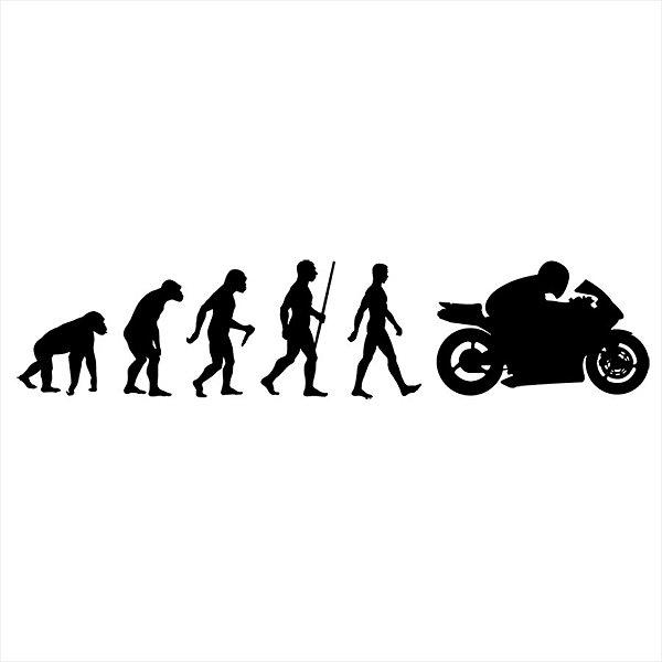 Adesivo - Evolução da Moto Automóveis
