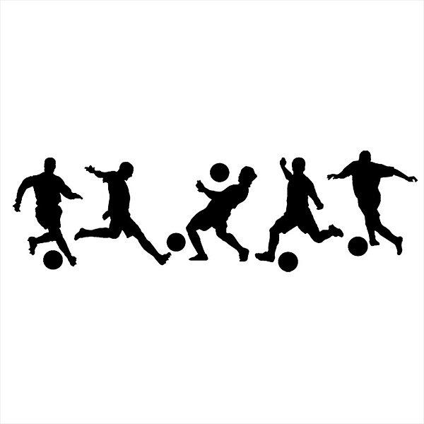 Adesivo - Jogadores Futebol Esporte