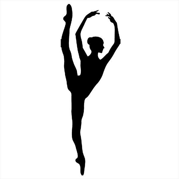 Adesivo - Bailarina Dança