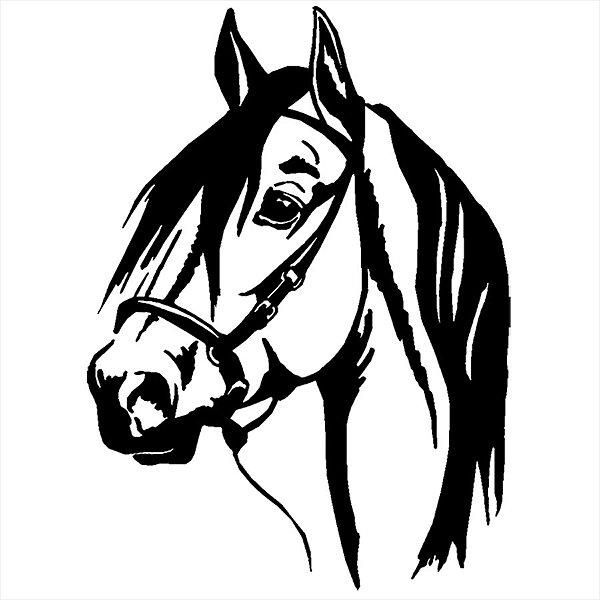 Adesivo - Cavalo Natureza