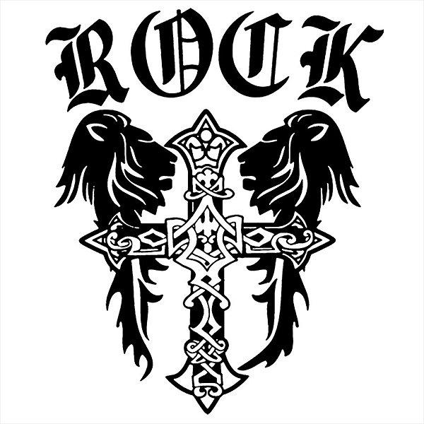 Adesivo - Rock Cruz Música