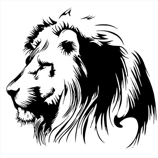 Adesivo - Leão Natureza