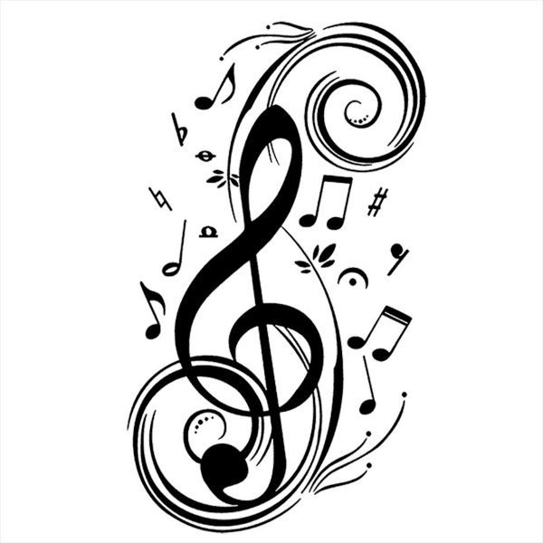 Adesivo - Musica Clave Música