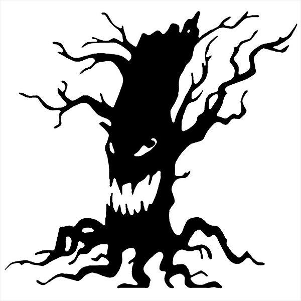 Adesivo - Árvore Do Mal Natureza