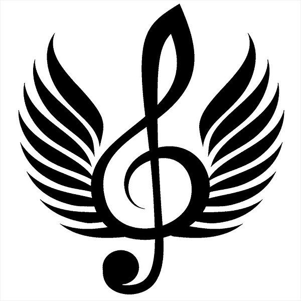 Adesivo - Clave De Sol Música