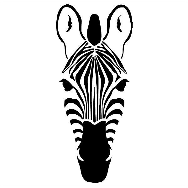 Adesivo - Zebra Natureza