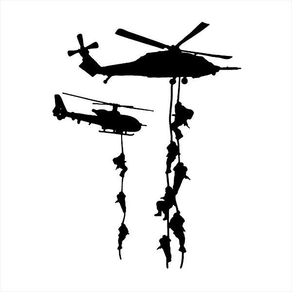 Adesivo - Helicópteros de Guerra Games
