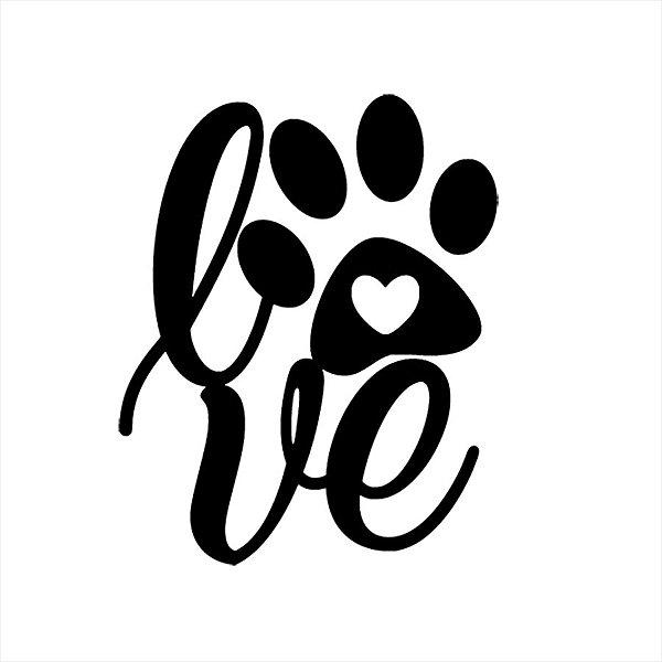 Adesivo - Cachorro - O Love Dogs Pets