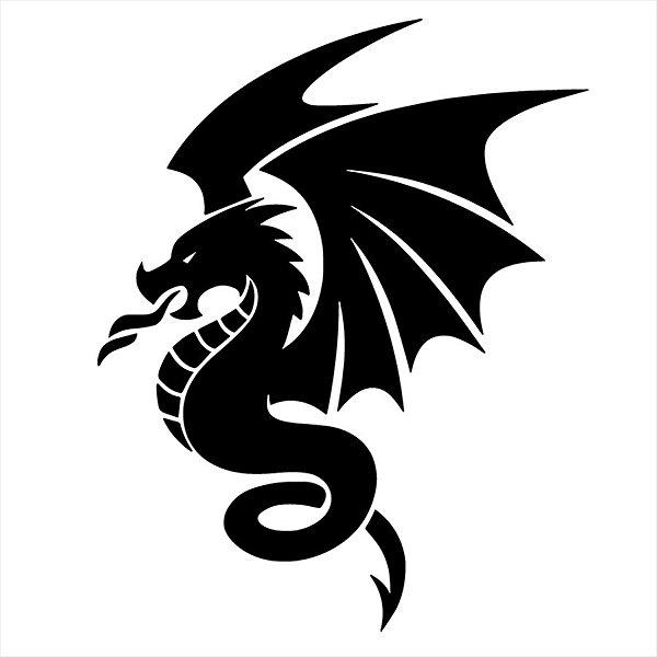 Adesivo - Dragão Mitologia