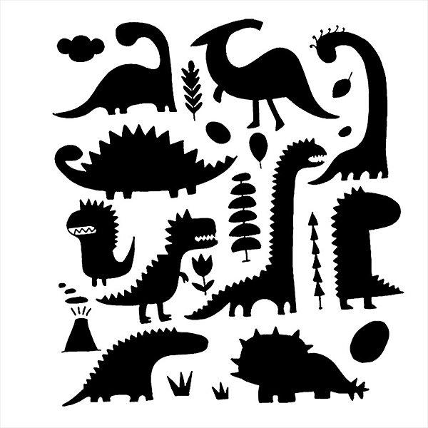 Adesivo - Dinossauros Natureza
