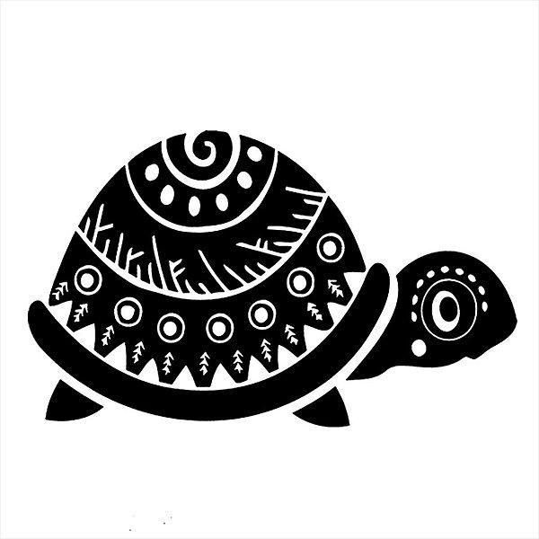 Adesivo - Tartaruga Natureza