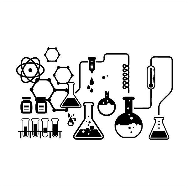 Adesivo - Química Profissões