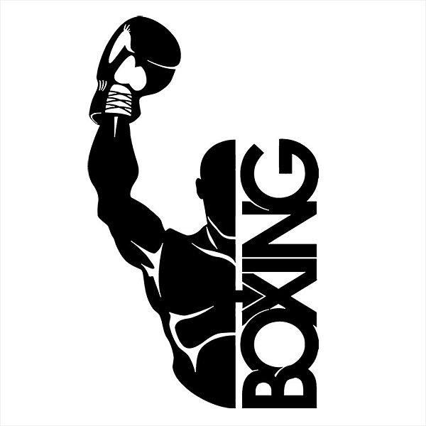 Adesivo - Boxing, boxe Esporte