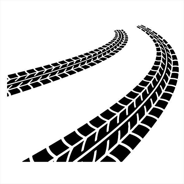Adesivo - Marca de Pneus Automóveis