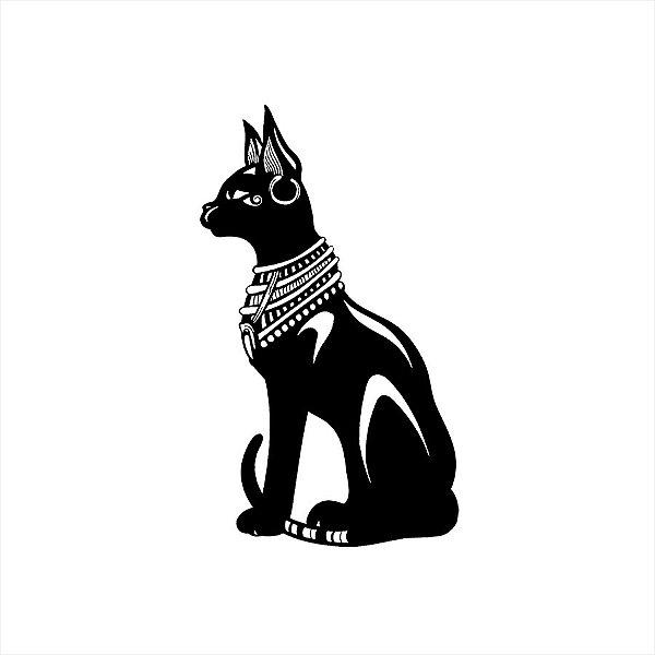 Adesivo - Gato Egito Diversos