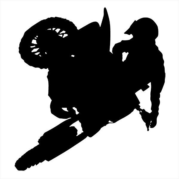 Adesivo - Motoqueiro No Ar Automóveis