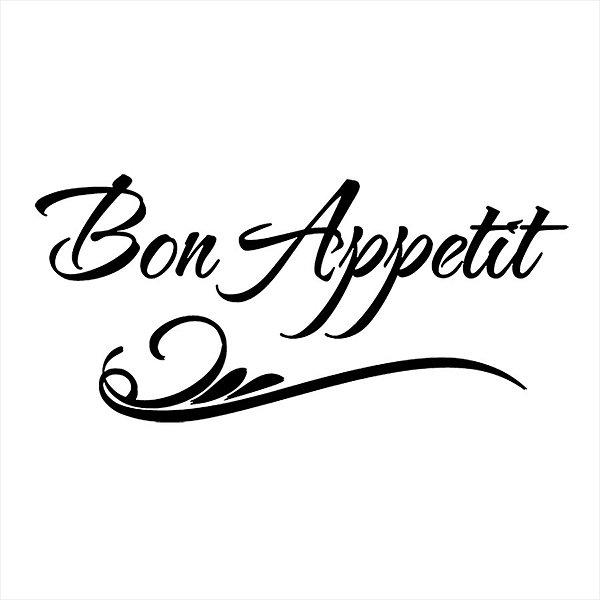 Adesivo - Bon Appetit Cozinha