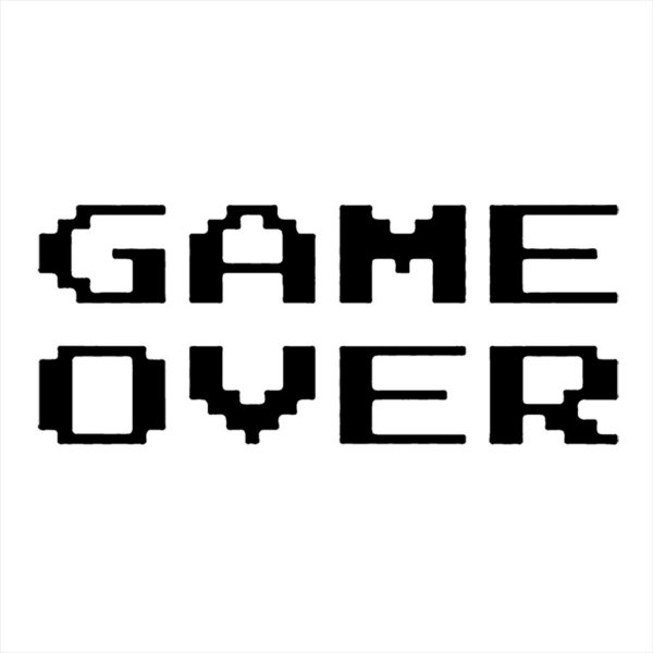 Adesivo - Game Over Games