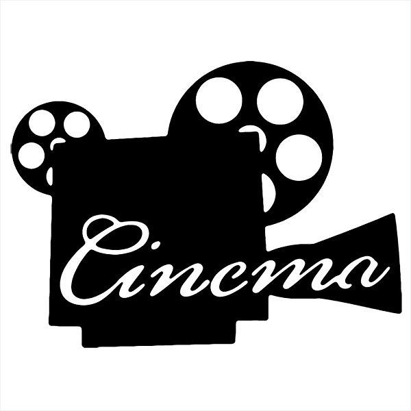 Adesivo - Cinema Câmera Vídeo Filme Cinema