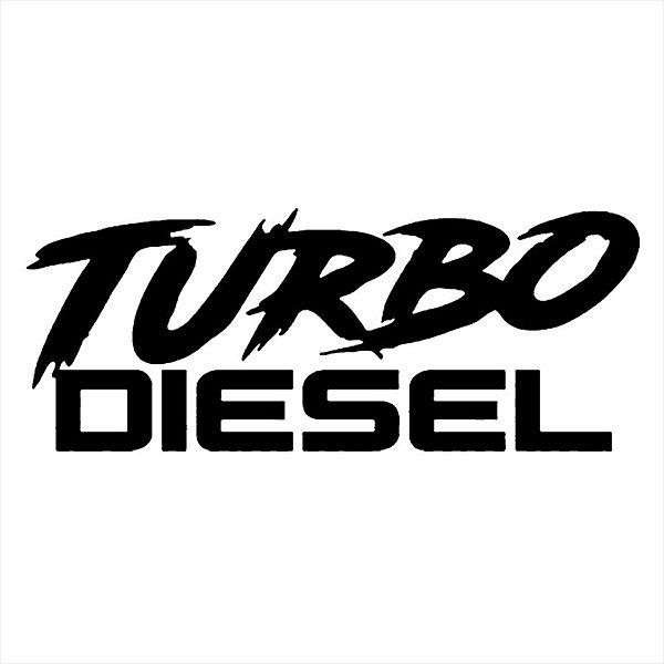 Adesivo - Turbo Diesel Automóveis