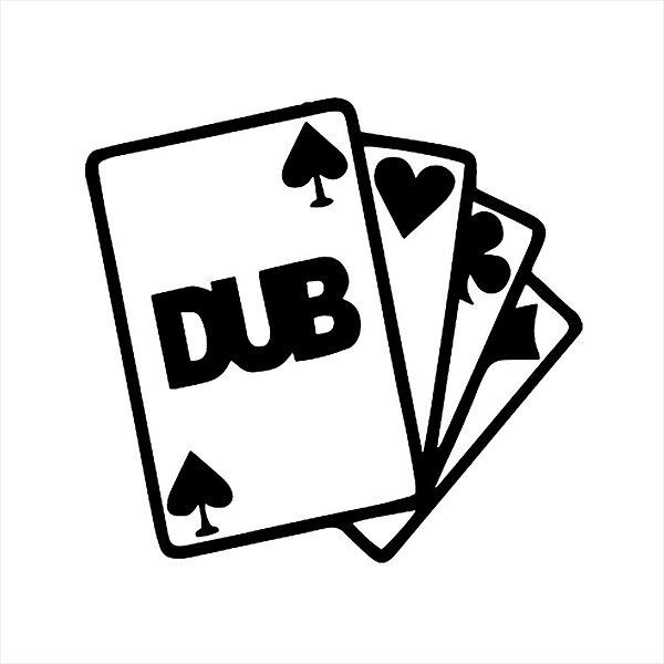 Adesivo - Baralho Cartas Dub Outros