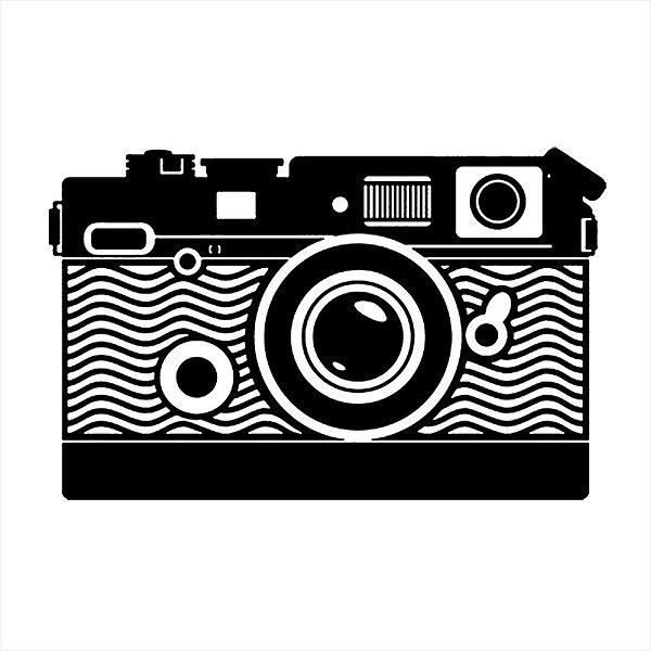 Adesivo - Câmera Fotográfica Viagem/Turismo