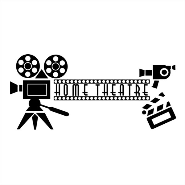 Adesivo - Home Theatre Cinema Em Casa Cinema