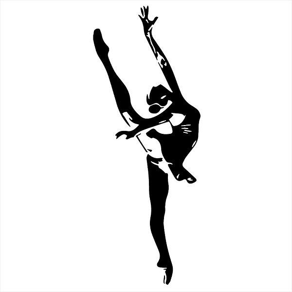 Adesivo - Bailarina Ballet Dancer Ballerina Dança