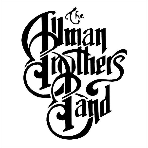 Adesivo - The Allman Brothers Band Southern Rock Música