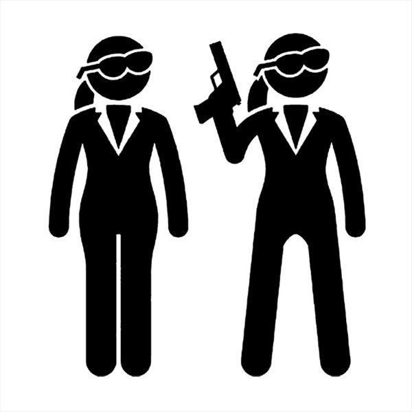 Adesivo - Bodyguard Security Guarda-Costas Profissões