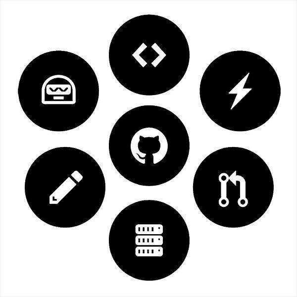 Adesivo - Github Hospedagem De Código Fonte Cat Tecnologia