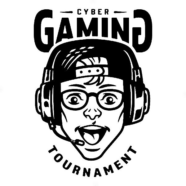 Adesivo - Cyber Gaming Tournament Gamer