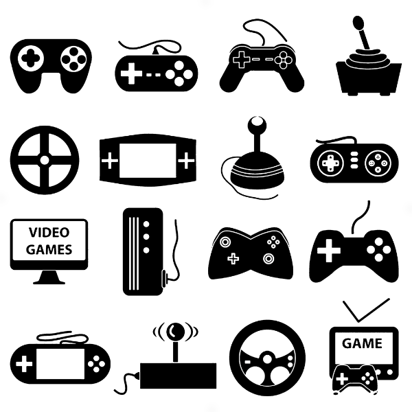 Adesivo - Controles Joysticks Video Games Gamer