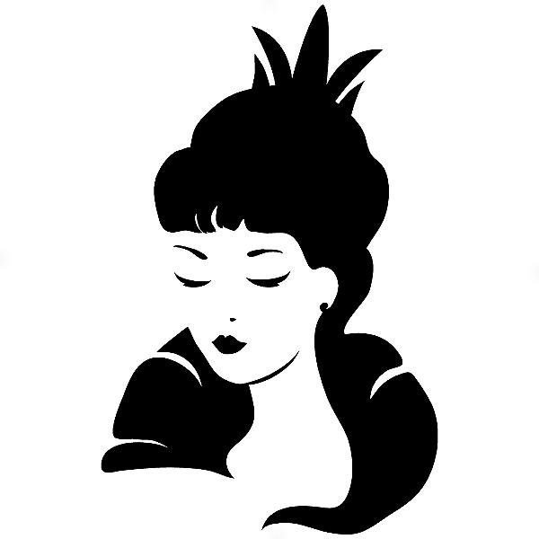 Adesivo - Woman Mulher Queen Rainha
