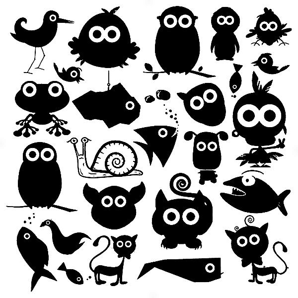 Adesivo - Cartela Animals