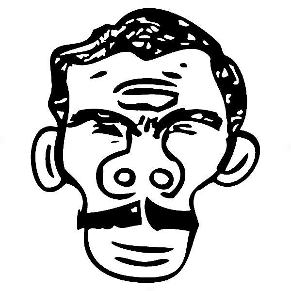 Adesivo - Cartela Retrato Seu Madruga Tripa Seca Chaves Chapolin Chespirit