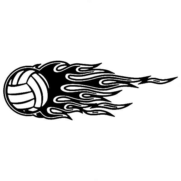 Adesivo - Voleibol Esporte Volei Voley