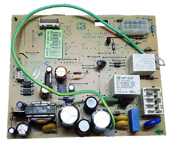 Placa controle bivolt geladeira Brastemp Original 326061172
